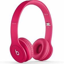 Beats Solo HD Drenched Matte Pink Headphones 810-00014 Brand New Sealed