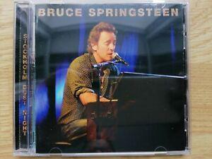 2 CD BRUCE SPRINGSTEEN STOCKHOLM DUST NIGHT HOVET SWEDEN 2005 LIVE CONCERT