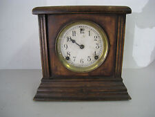 Antique 1928 E.N. Welch Manufacturing Co. Wooden Clock Pendulum Vintage