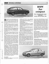 WIKING CHRONIK  BMW 3er compact, von 1995
