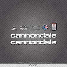 0608 R700 Bianco Cannondale Bicicletta Adesivi-Decalcomanie-Transfers