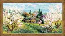 COUNTED CROSS STITCH KIT RIOLIS - APPLE ORCHARD