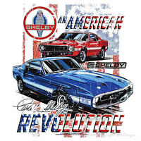 * Licensed Ford Vintage Car Mustang GT 350  MuscleCar Shelby Auto T-Shirt *0191