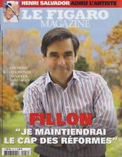 FIGARO MAGAZINE / N° 19765 / 16 FEVRIER 2008 / FILLON-HENRI SALVADOR-LE POKER