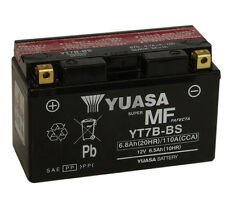 Genuine Yuasa YT7B-BS Motorbike Motorcycle Battery Inc Filling Kit