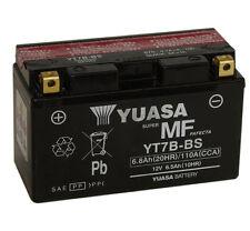 Original Yuasa YT7B-BS Motocicleta Batería Incluida Gratis Motociclista Cuello