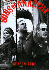 Sons of Anarchy ~ Complete 4th Fourth Season 4 Four ~ BRAND NEW 4-DISC DVD SET