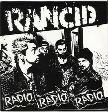 "Rancid Radio 7"" vinyl record! non lp album songs! punk rock oi street crust NEW!"