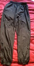 NIKE Clima FIT BLK SWEAT ATHLETIC FITNESS PANTS WOMEN Medium M Tapered Lined