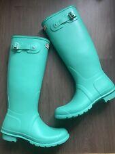 New Hunter Woman's Wellies Size UK 8 EU 42 Original Tall Boots Wellingtons