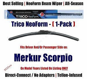 Super Premium NeoForm Wiper Blade (Qty 1) fits 1988-1989 Merkur Scorpio - 16200