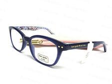 NWT Kate Spade Rebecca2 Blue Floral Print Readers Glasses w Case +1.5/+2.0/+2.5