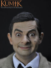 KUMIK 1:6 Figure United Kingdom Male Star Mr. Bean Rowan Atkinson Head Sculpt