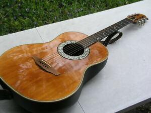 neuwertige Gitarre Konzertgitarre Wandergitarre Ovation 1114 mit Tonabnehmer