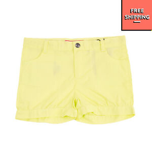 GUESS Shorts Size 4Y Stretch Logo Patch Button Adjustable Waist Zip Fly