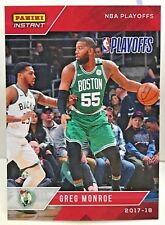 Greg Monroe 2017-18 Panini Instant NBA Playoffs #55 - SP /126 - BOSTON CELTICS