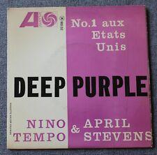 Nino Tempo & April Stevens, deep purple + 3, EP - 45 tours
