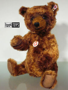 STEIFF Ltd GRIZZLE - GRIZZLY TEDDY BEAR - 13.4in./34cm EAN 664915 BOXED RETIRED