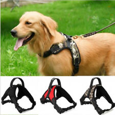 Adjustable Pet Big Large Dog Vest Collar Harness No Lead Walking Hand Strap
