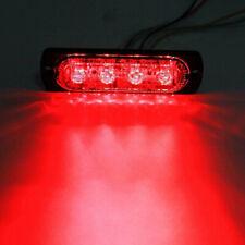 4LED off-road de los coches camiones Seguridad Lámparas Luces Rojas niebla de trabajo urgente a prueba de agua