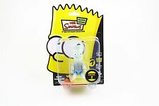 "Bart Simpson 3"" Qee Keychain Collection Black and White Bart"