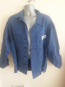 "Ex-rental Welding jacket + bib&braces FR size L 42"" chest, 35"" waist #992-995"