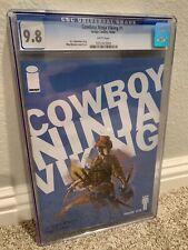 Cowboy Ninja Viking #1 CGC 9.8 Image Comics Chris Pratt Movie Lieberman Rossmo 1