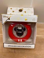 Disney Primark MICKEY MOUSE Christmas Tree Spinner Decoration Brand New (b12)