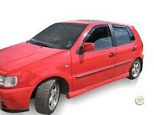 DVW31119 VW POLO 6N/6N2 5 Door 1994-2002 WIND DEFLECTORS 4pc HEKO TINTED