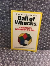 ROGER VON OECH'S BALL OF WHACKS GUIDEBOOK*NEW* Paperbck ISBN-13:978-0-911121-01