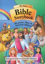 MY FIRST BIBLE STORYBOOK- BILINGUAL Edition English/Spanish -Children's Bible
