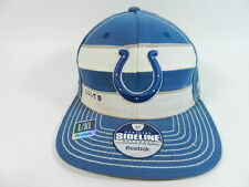 Reebok Sideline Indianapolis Colts Hat Cap NFL Fitted L/XL New With Flaw
