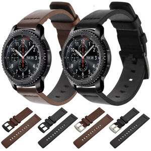 18 20 22mm Quick Release Leather Watch Band Strap For Fossil Q Watch Bracelet