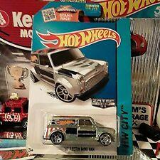 2015 Hot Wheels ~ '67 Austin Mini Van Walmart Zamac ~ Hw City Art Cars 27/250