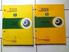 John Deere  Mähdrescher 810-812-814-816-818-820 Cutting Platforms Ersatzteile