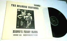 Brown's Ferry Recordings 1933-1941 by The Delmore Brothers LP old time country