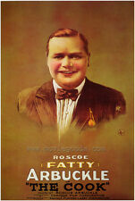 THE COOK Movie POSTER 27x40 Roscoe 'Fatty' Arbuckle Buster Keaton Al St. John