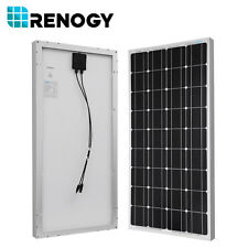 Renogy Best Seller 100 Watt Solar Panel 12 Volt Monocrystalline W/ MC4 Connector
