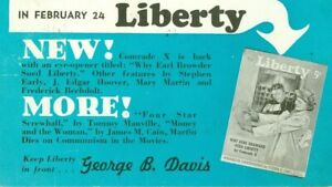 Postcard (2) Advertising Thomas Display holders & Liberty