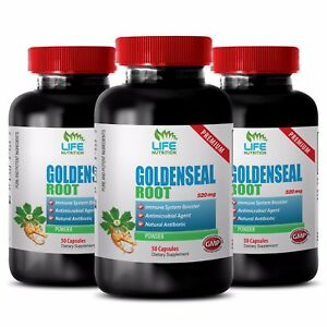weight loss for people who feel too much - GOLDENSEAL ROOT 520MG 3B - goldenseal