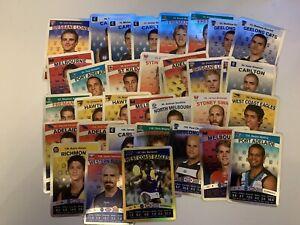 2010 AFL Teamcoach SILVER BULK CARD LOT (34 Cards)