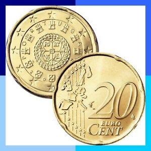 Ek // 20 Cent Portugal # Pièce Nueve : Sélectionnez une Année :