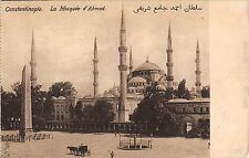 BR45425 la mosquee d ahmed Constantinople turkey istanbul mosque