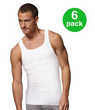 3 Pack 100 Cotton Athletic Fit Tank Top