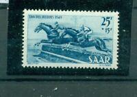 Saarland, Perderennen Nr. 266 postfrisch **