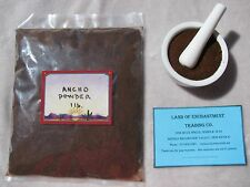 NEW MEXICO PURE ANCHO CHILE POWDER  1 POUND  Fresh!!  *Free Shipping for USA*