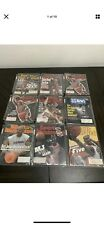 Vintage Michael Jordan Sports Illustrated Cover Lot Of 9 MINT RARE Full Book 90s