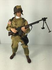 1/6 21ST CENTURY US 82ND AIRBORNE PARATROOPER BAR GUNNER DRAGON DID BBI WW2