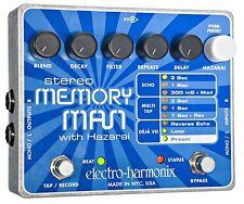 Electro-Harmonix Stereo Memory Man w/Hazarai - free shipping