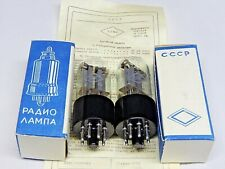 MATCHED PAIR  6N8S /6SN7 /1578 RUSSIAN Tubes FOTON PLANT. NIB SAME  DATE 1965